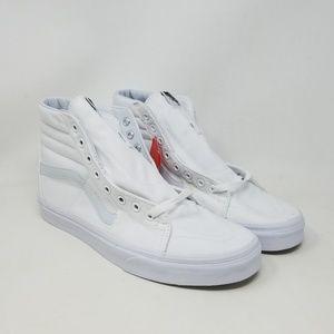 Vans Sk8-Hi True White Skate Sneakers Men's Sz 10